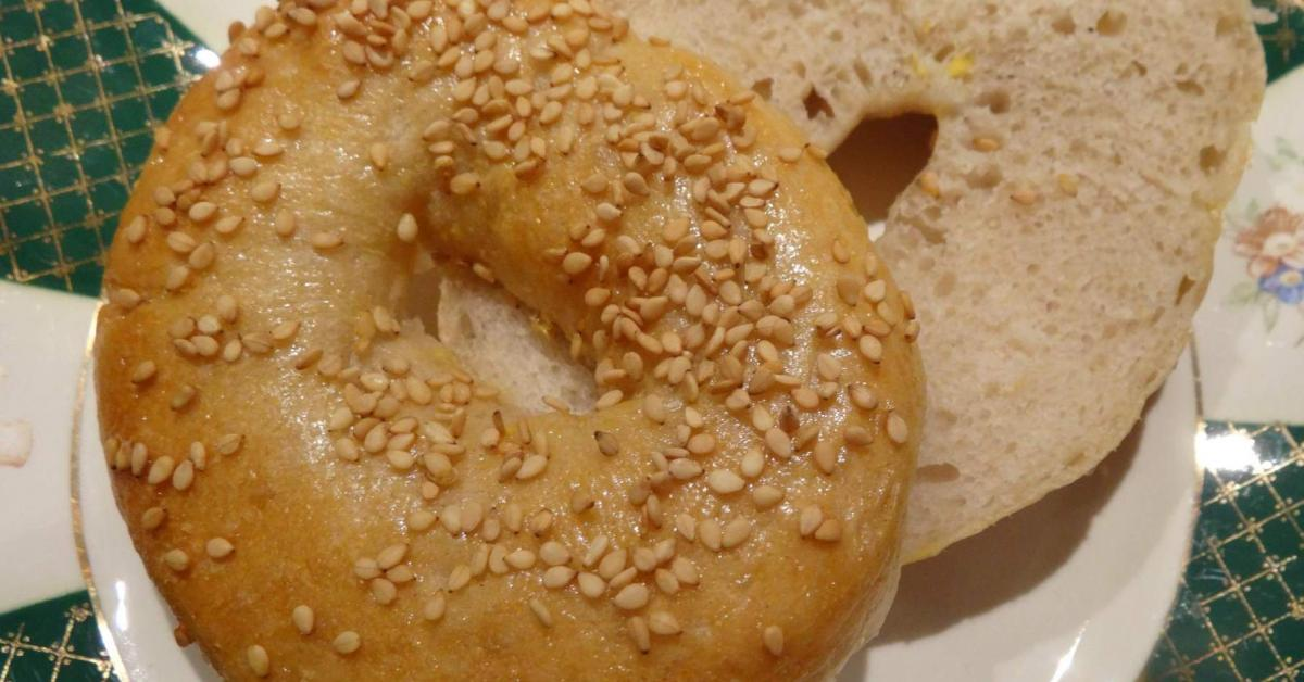 Pate a pain bagel