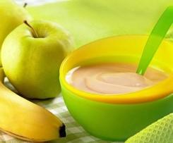 Compote de Pommes, Poires ou Bananes