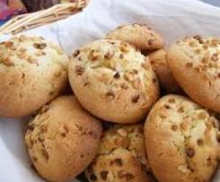 cookies  au pépites de nougatine.