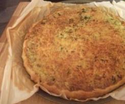 QUICHE poulet-brocolis
