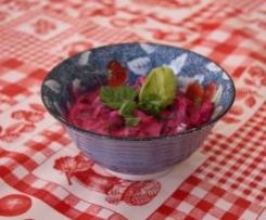 Beetroot raïta (salade de betterave aigre-douce) {Recette indienne}