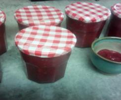 Cranberries sauce ou compote de canneberges et pommes