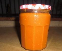 Coulis de tomate pour l'hiver