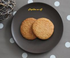 Biscuits amandes et orange