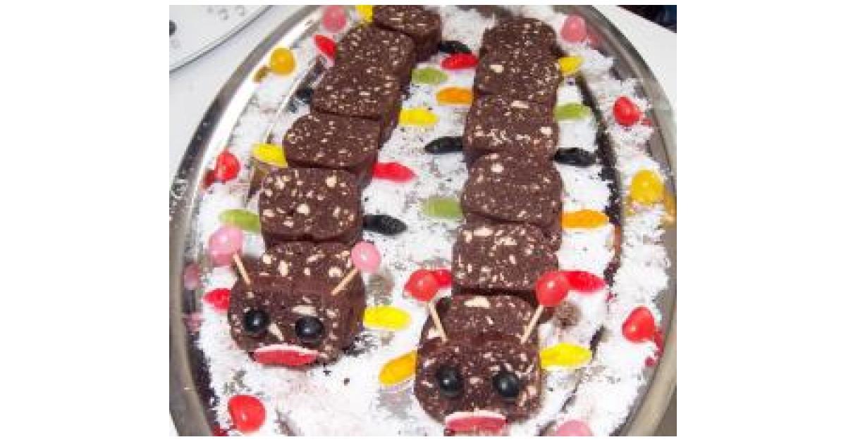 Salame de chocolat par c tia une recette de fan for Dans 30 ans plus de chocolat