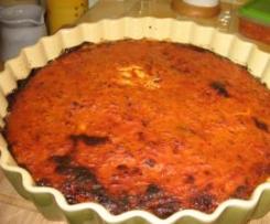 Tarte tomates et corned beef