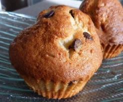 Les muffins banane chocolat trop moelleux