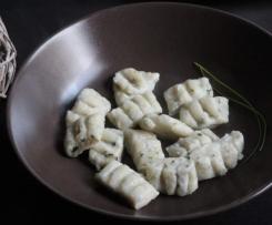 Gnocchis à la ricotta, au parmesan et à la ciboulette