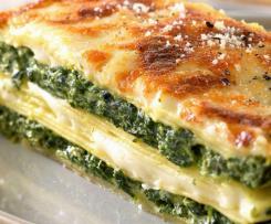 Lasagnes aux epinards vegan