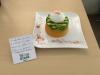 L'oeuf dans son écrin de petits pois et carottes saveur coco sublimé d'une émulsion au parmesan