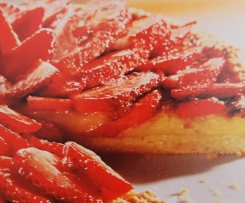 tarte fraises- chocolat blanc