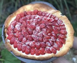 Croûte aux fraises (tarte aux fraises)