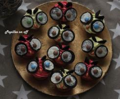 Cupcakes hibou Edwige - Sans oeuf, spécial allergique - Sweet Table Anniversaire Harry Potter