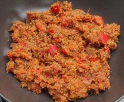 Quinoa à la basquaise - Ig bas