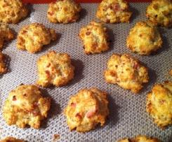 Cookies fromage lardons