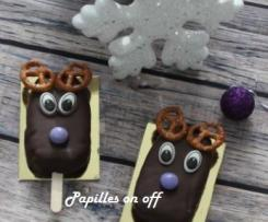 Cake pop de Noël, façon Rennes