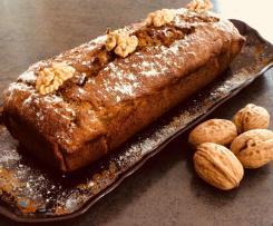 Cake bananes noix