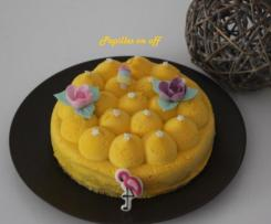 Entremet fruits de la passion