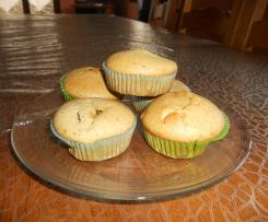 MUFFIN AU THE MATCHA ET CHOCOLAT BLANC