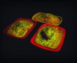 Muffins choco-banane light