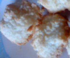 Cocosbredle (rochers à la noix de coco - Petits gâteaux de Noël)