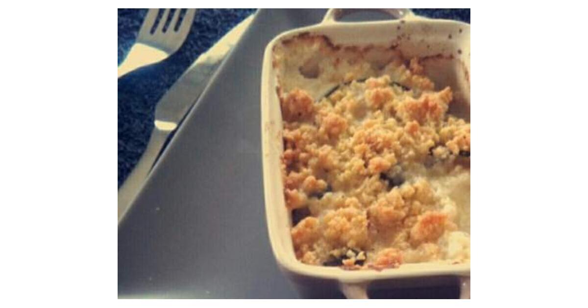 Crumble de courgette et ch vre par m lie m lo en cuisine - Espace cuisine thermomix ...