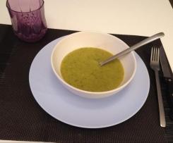 Soupe de légumes variés au kiri