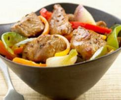 Sauté de Porc au Légumes