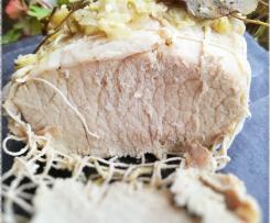 Rôti de porc au Varoma