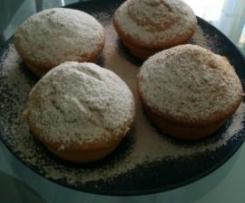 Muffins potiron amandes