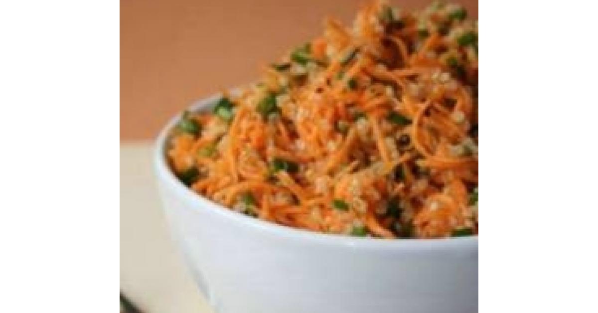 Salade quinoa pommes carottes fenouil sans glo vegan - Espace cuisine thermomix ...