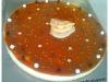 Bavarois poire et caramel au beurre salé