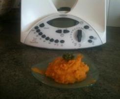 Purée de carottes et pomme de terre au curcuma