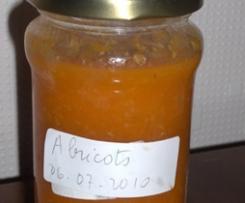 CONFITURE ALLEGEE D'ABRICOTS