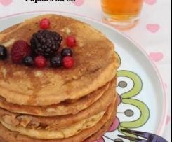 Pancakes à la farine de petit épeautre et lait d'amandes - IG bas