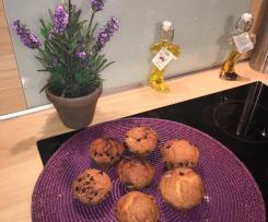 Muffins aux pépites de chocolat - Facile