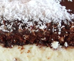 Gâteau coco-choco