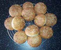 Petits pains américains pour hamburger