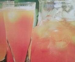 Boisson au melon glacée