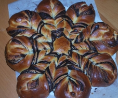 Brioche en flocon