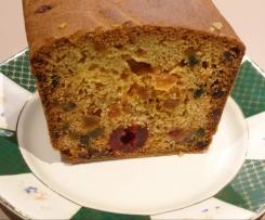 Cake aux fruits de ma mamie Jeanne