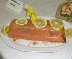 Terrine aux deux saumons - Agence de Laon