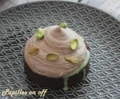 Tartelettes pistaches et chocolat