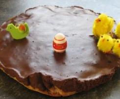 Gâteau croquant fondant de Pâques