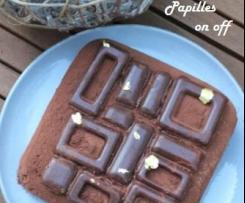 Entremets mousse au chocolat et cookies
