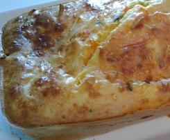 Terrine de légumes parmesane