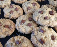 Cookies aux flocons d'avoine