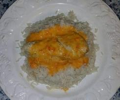 poulet sauce poivrons