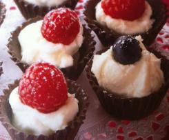 Bouchées Chococrème aux petits fruits