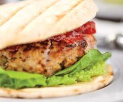 Steak de dinde au gingembre et à la coriandre (ou burger)